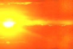 光療法で朝の太陽を再現